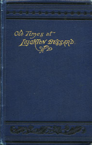 Old Times at Leighton Bussard - A Series of Lectures on the History of the Town